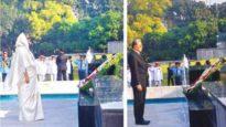 শিখা অনির্বাণে রাষ্ট্রপতি ও প্রধানমন্ত্রীর শ্রদ্ধা