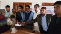 সুনামগঞ্জ এডুকেশন ট্রাস্ট ইউ.কে'র প্রতিবন্ধীদের সহায়তা প্রদান