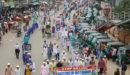 মিয়ানমারে গণহত্যার প্রতিবাদে কাজিরবাজার জামেয়ার র্যালি