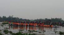 জগন্নাথপুরে নৌকা বাইচ সম্পন্ন