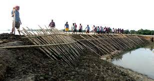হাওরে বাঁধ নির্মাণে গাফিলতি- ৪৭ ঠিকাদারের চুক্তি বাতিল