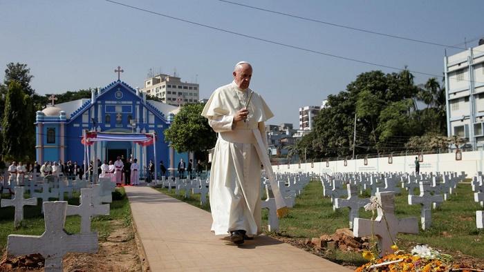 বাংলাদেশে ধর্মীয় সহাবস্থান বিশ্বের জন্য নজির: পোপ