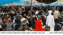 হবিগঞ্জে ইজতেমা মাঠে লাখো মুসল্লির জুমার নামাজ আদায়