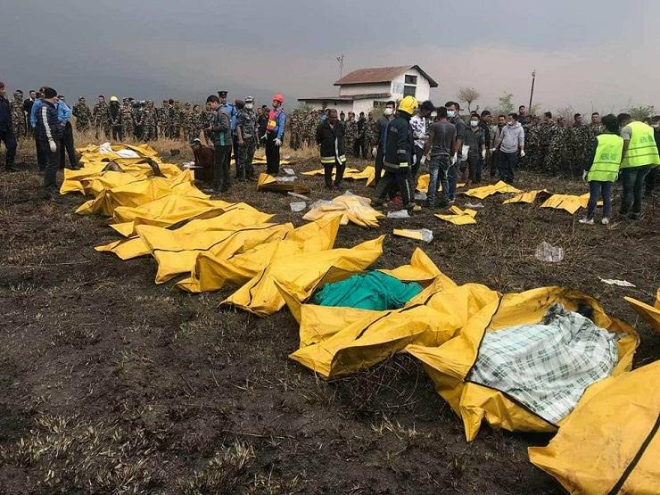 নেপালে বাংলাদেশি বিমান বিধ্বস্তে অন্তত ৫০ জনের প্রাণহানি