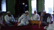 শায়খ জিয়া উদ্দীনের সাথে  ইউরোপ জমিয়ত নেতৃবৃন্দের সাক্ষাত