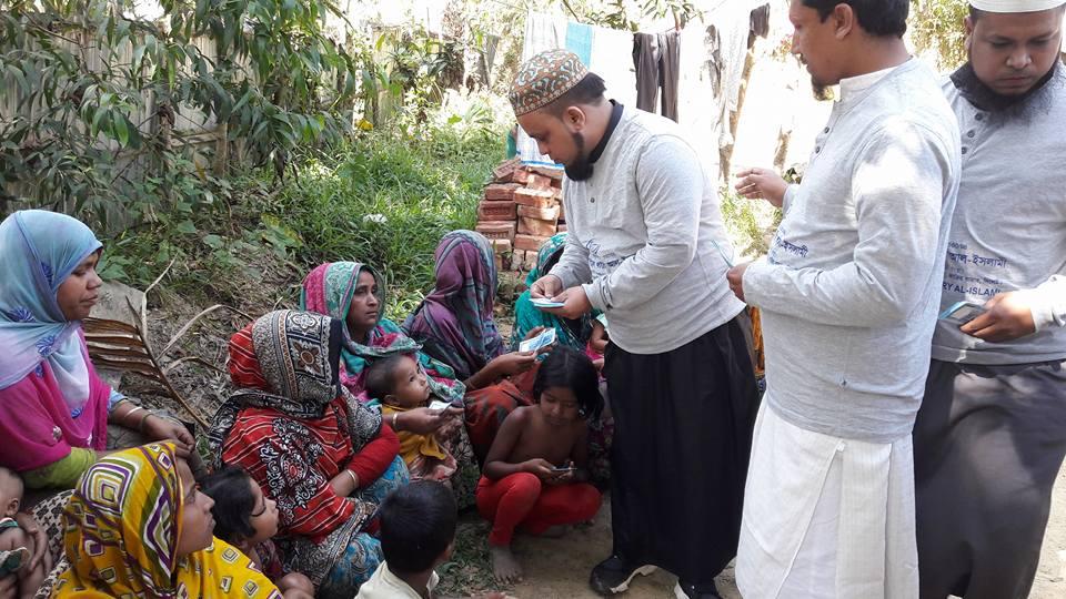 রোহিঙ্গাদের পাশে কাজিরবাজার জামেয়া