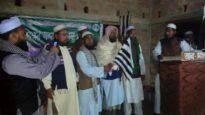 কানাইঘাটে মজলিশ নেতা আব্দুর রশীদের জমিয়তে যোগদান