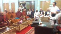 আল্লামা আহমদ শফীর সঙ্গে সাক্ষাৎ করল বৌদ্ধ প্রতিনিধি দল