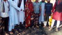 ভাটিপাড়ায় ক্ষতিগ্রস্থ পরিবারের পাশে জমিয়ত নেতৃবৃন্দ