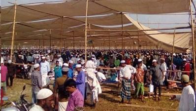 সুনামগঞ্জে তিন দিন ব্যাপী জেলা ইজতেমা শুরু