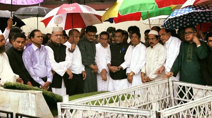 ভৈরব জেলা সময়মতো: জিল্লুরের মৃত্যুবার্ষিকীতে কাদের