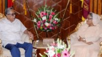 রাষ্ট্রপতির সঙ্গে প্রধানমন্ত্রীর সৌজন্য সাক্ষাৎ