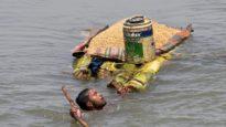 বিপর্যস্ত পশ্চিমবঙ্গ, বন্যার্তরা আশ্রয় নিতে বাংলাদেশে
