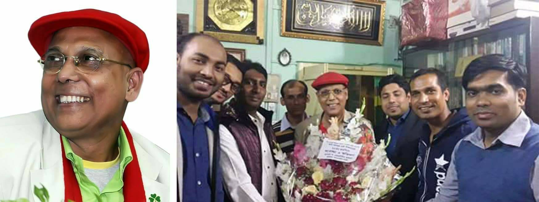 জন্মদিনে  ভালোবাসায় সিক্ত কবি আবদুল হাই শিকদার