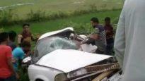 মৌলভীবাজারে সড়ক দুর্ঘটনায় ৬ জন নিহত