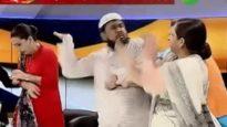 টিভি লাইভে নারী কর্তৃক মাওলানাকে থাপ্পড়  (ভিডিও)