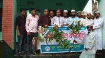 জৈন্তাপুরে  যুব জমিয়ত'র বৃক্ষরুপণ কর্মসূচি অনুষ্ঠিত