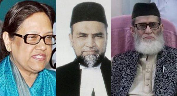 শপথ নিলেন আপিল বিভাগের নতুন ৩ বিচারপতি