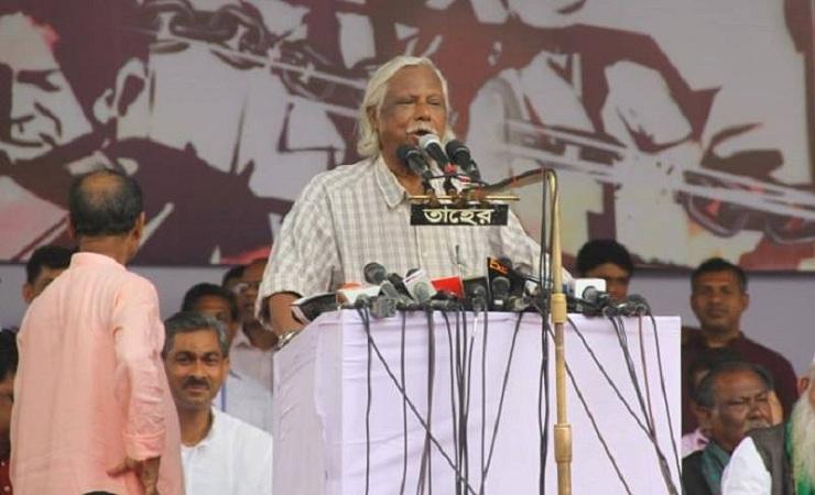 পালানোর পথ খুঁজছে সরকার: জাফরুল্লাহ