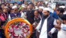শহীদ মিনারে ফুল দিয়ে আলোচনায় মুফতি মনির কাসেমী