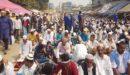 ইজতেমায় লাখো মুসল্লির জুমার নামাজ আদায়