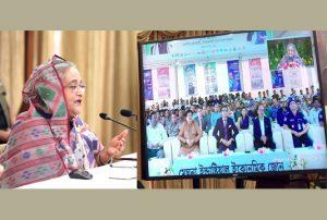 মৌলভীবাজারের শ্রীহট্ট অর্থনৈতিক অঞ্চলের উদ্বোধন করলেন প্রধানমন্ত্রী