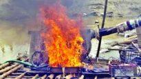 ভোলাগঞ্জ পাথর কোয়ারিতে৭ 'বোমা মেশিন' ধ্বংস