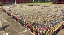 সিলেটে সাড়ে ৫ কোটি টাকার মাদক ধ্বংস করল বিজিবি