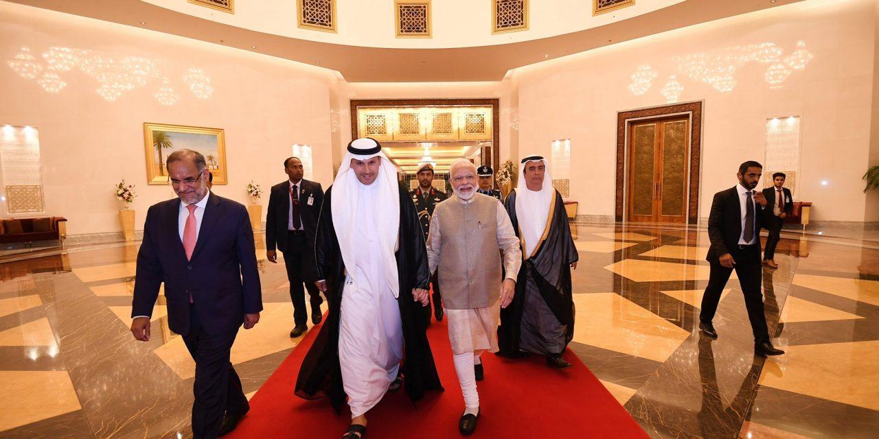 আজ আরব আমিরাতের সর্বোচ্চ রাষ্ট্রীয় সম্মাননা 'অর্ডার অব জায়েদ' দেয়া হচ্ছে নরেন্দ্র মোদীকে
