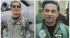 ভারতের যুদ্ধবিমানকে ভূপাতিত করা দুই পাকিস্তানি পাইলটকে পদক প্রদান