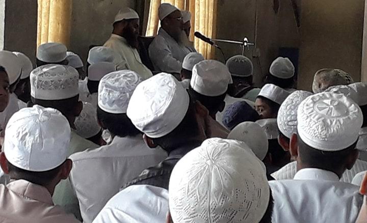 যাত্রাবাড়ী তাহফিজুল কুরআন ওয়াস সুন্নাহয় ইসলাহী মাহফিল অনুষ্ঠিত