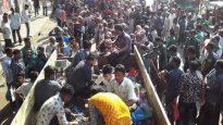 নগরীতে পেঁয়াজ কিনতে হুড়োহুড়ি, 'মিস ফায়ারে' আহত ২