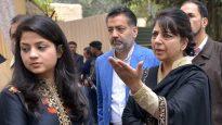 মায়ের কিছু হলে ভারত সরকার দায়ী থাকবে : ইলতিজা মুফতি