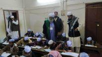 জামিয়া হিদায়াতুল ইসলাম পরির্দশন করলেন  তিন বিশিষ্ট আলেম