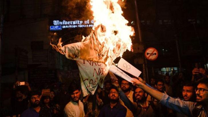 উত্তাল ভারত : হিন্দুত্ববাদি মোদি সরকারের বিরুদ্ধে বিক্ষোভ