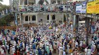 দিল্লী ইস্যুতে সিলেটে সমমনা ইসলামী দল সমূহের বিশাল বিক্ষোভ